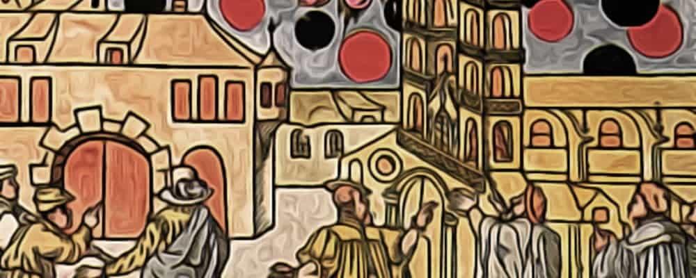 странные НЛО средневековья