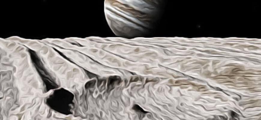 Ганимед и Юпитер