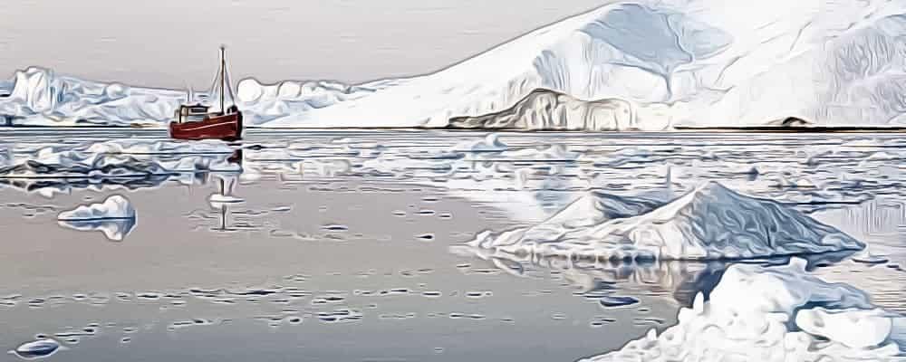 насколько холодно на Северном полюсе?