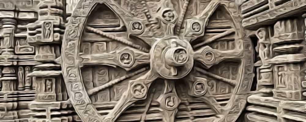 самое древнее колесо