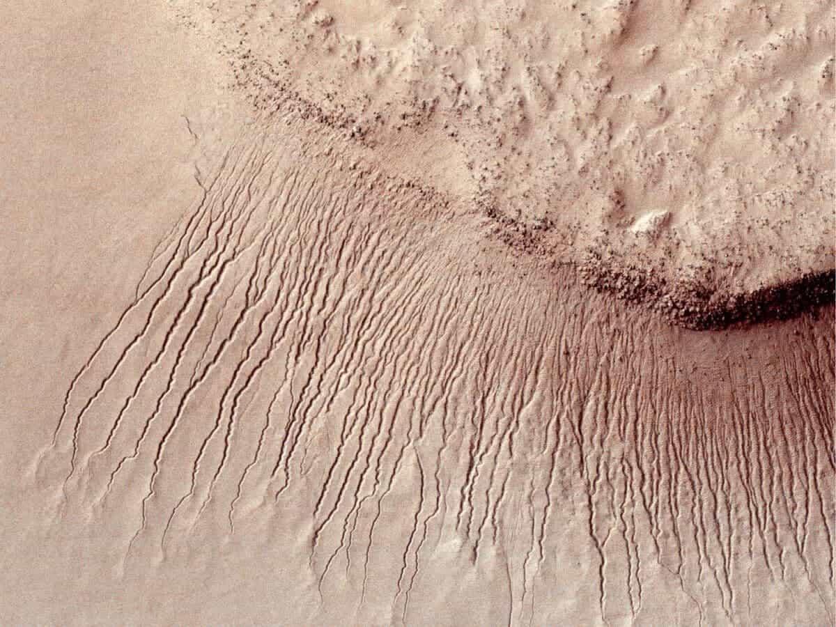 марсианские овраги