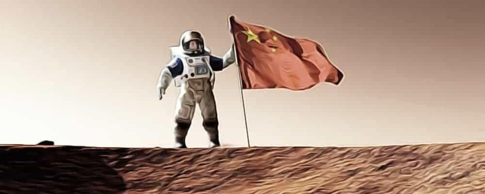 «Тяньвэнь-1» на орбите Марса
