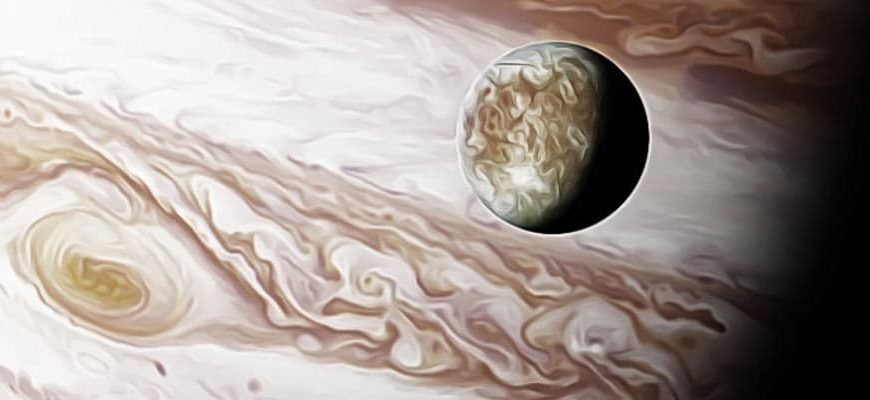 о спутнике Юпитера Европе