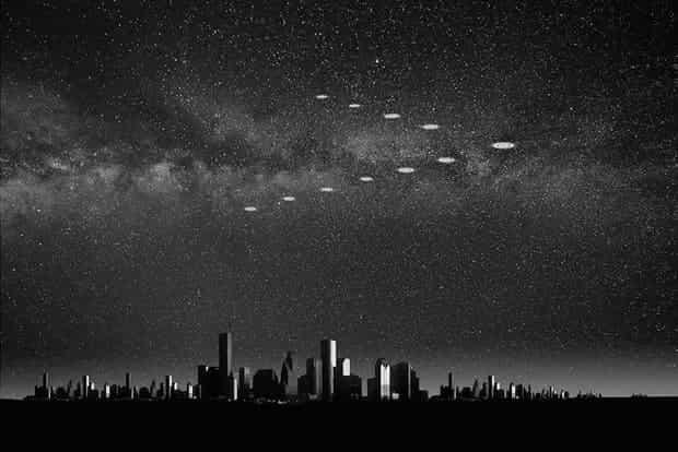 странные объекты в небе