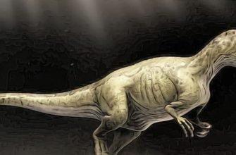 хищный аллозавр