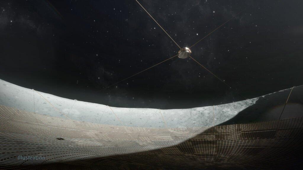 лунный радиотелескоп