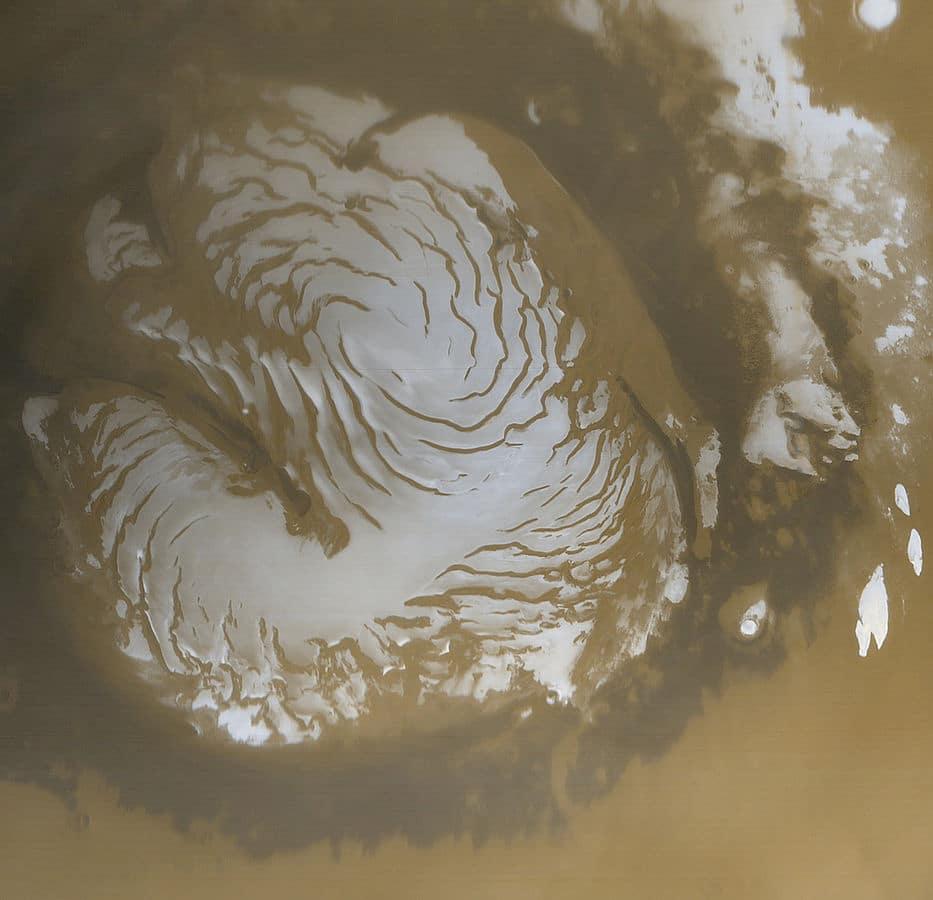 Северный полюс Марса