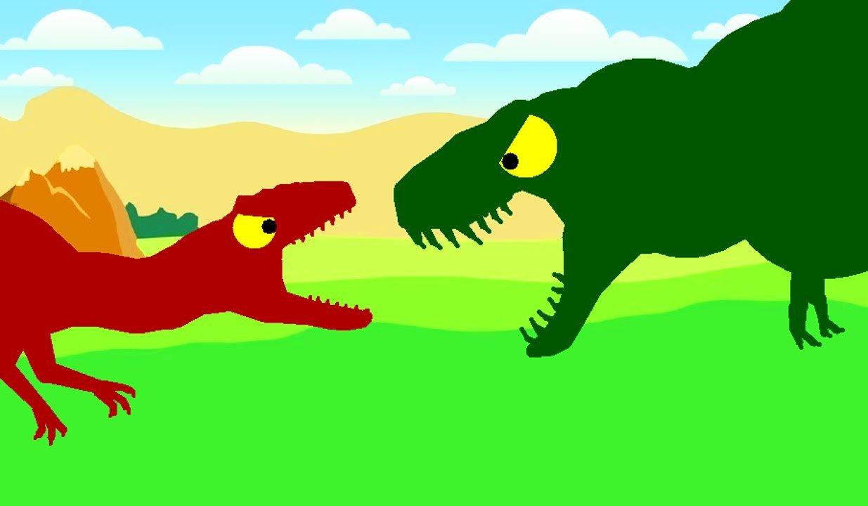 аллозавр и тираннозавр
