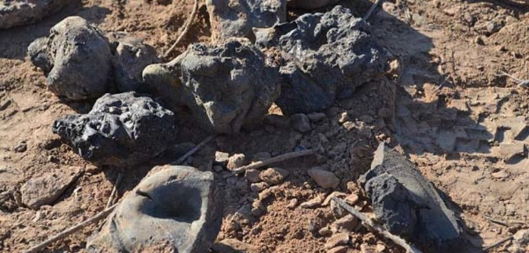 камни расплавленные Мохенджо-Даро