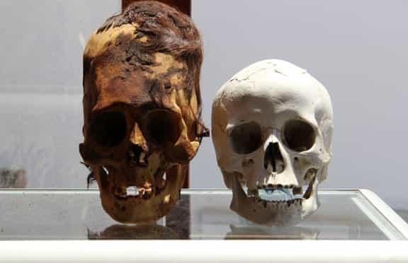 странные черепа из Перу