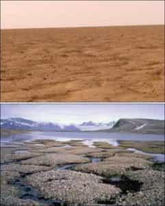 сравнение Земли и Марса
