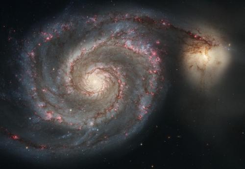 Спиральная галактика Водоворот, 2005