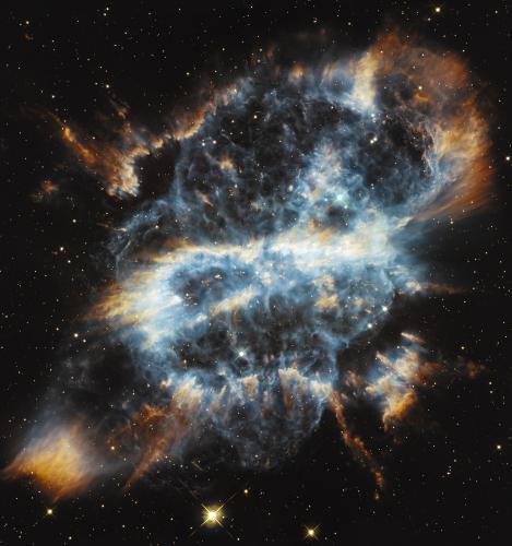 Спиральная планетарная туманность NGC 5189, 2012