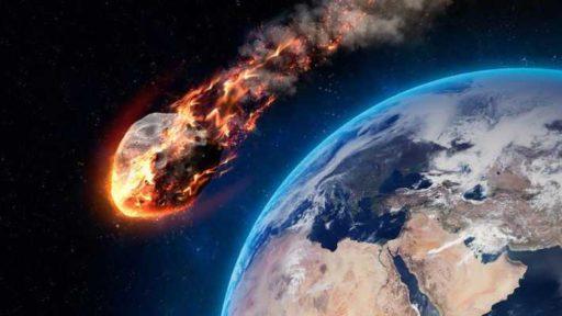 воздействие метеорита