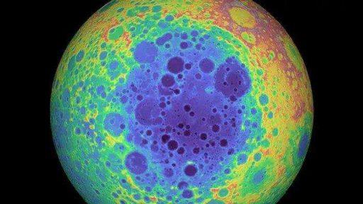 бассейн Эйткейн. Крупнейший из лунных кратеров.