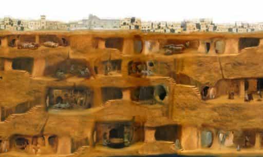 древний город под землей