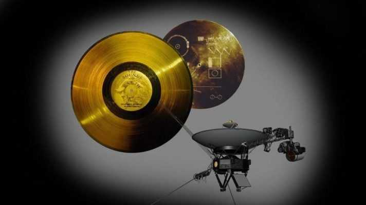 Золотая пластина Вояджера