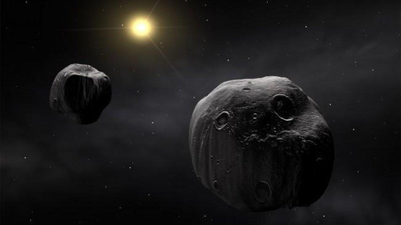 Обои обломки, астероиды, земля. Космос foto 17