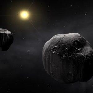 Осколки древних астероидов